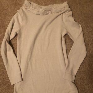 Gap maternity ivory sweater XS